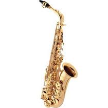 Saxofone Alto Eagle Sa501 Em Mib (eb) Com Case - Laqueado