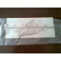 Vw Karmann Ghia Emblema Trasero De Cajuela 64-74 Nuevo