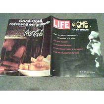 Revista Life En Español El Che Un Año Despues.año 1968