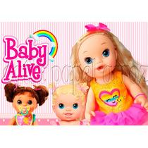 Baby Alive Papel Arroz A4 Para Bolo