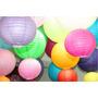 10 Luminária Japonesa Chinesa Oriental Abajur Lanterna Balão