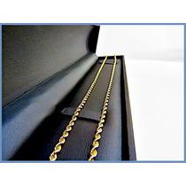 Cadena Oro Amarillo Solido 14k Mod. Torzal 3mm 15.7grs Acc