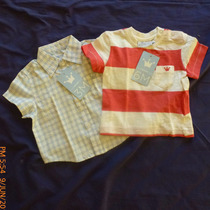 Franela Y Camisa Epk De Varón 3 Y 6 Meses