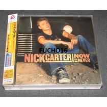 Nick Carter - Cd+dvd Now Or Never Japão Backstreet Boys