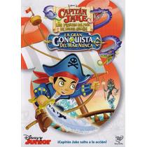 Capitan Jake Y Los Piratas Del Pais De Nunca Jamas Dvd
