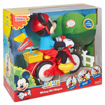 Mickey Mouse Bici Mágica Fisher Price Juguete Niños +2años