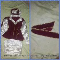 Disfraz De Arabe Talla 10 1 Solo Uso En Perfecto Estado