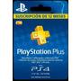 Playstation Plus Psn Plus 12 Meses / 1año / 365 Días / Ps4