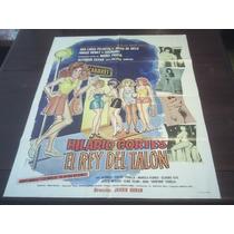 Poster Orig Mexicano Hilario Cortes El Rey Del Talon A Zayas