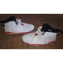 Zapatos Botas Jordan Retro 6 Ventana Blancas Infrared 41