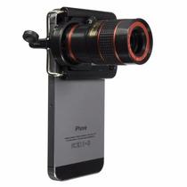 Zoom Universal X8 Lente Óptico Tipo Telescopio Celular