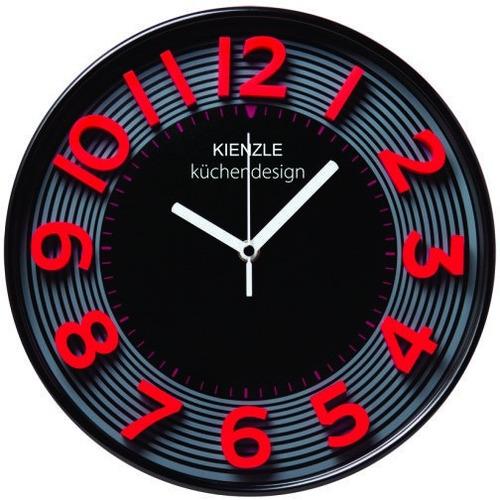 65827a9212a Relógio Parede 30cm 3d Cherry Cozinha Vermelho Novo Kienzle - R  215 ...