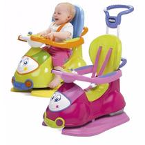 Caminador Pata Pata Chicco Quattro C/ Manija - Childrens