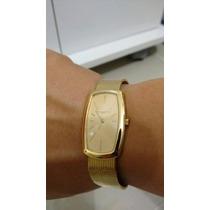 Relógio Vacheron Constantin Todo Em Ouro Pulseira Original O
