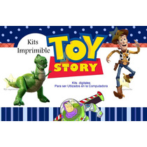 Kit Imprimible Toy Story + Candy Bar