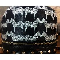 Frete Gratis - Bag Zebra - Detalhe Dourados - H A Retro Shop