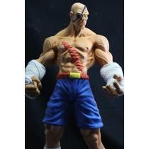 Sagat Street Fighter 1/4 41 Cm Esculpido Por Lucenatoys