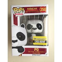 Funko Pop Po Kung Fu Panda Aterciopeado Exclusivo Flocked