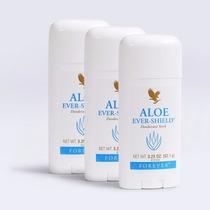 Kit De 3 Desodorante Aloe Ever Shield Forever Em Oferta!!!