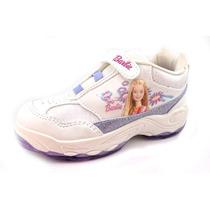 Zapatillas Barbie Deportivas Velcro 31-33 - Childrens