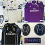Jersey Real Madrid 2016-2017 Manga Larga Champions League
