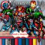 Kit Imprimible Avengers Imagenes Y Papeles Clipart