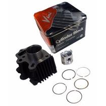 Cilindro De Motor Para Shineray Xy 50q 70cc Completo Vini