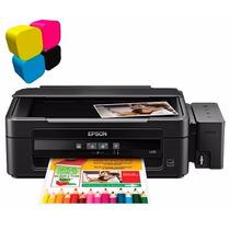 Impresora Multifuncional Epson L210 Sistema Tinta Continuo