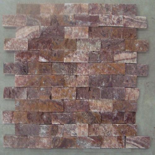 De la colecci n benzaa stone loseta onyx rojo acabado for Loseta interceramic