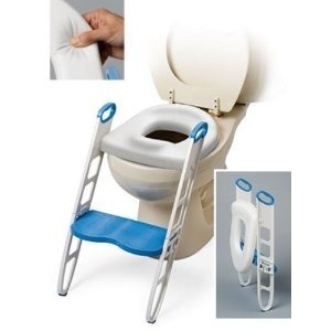Banito asiento entrenador acolchonado con escalon para - Asiento de bano bebe ...