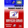 Apostila Pref Presidente Prudente Sp Servicos Gerais 2015