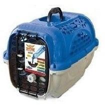 Caixa Transporte Bebedouro N4 Cores Cães Até 18kg P/ Avião