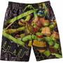 Bermuda Tortugas Ninja Original Oficial - Talle 8
