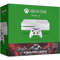 Xbox One 500gb Gears Of War - Branco White - Novo - E-sedex