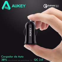 Cargador De Auto Aukey 1pto Quick Charge 3.0 Turbo Charge