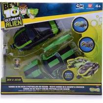 Veículo Ben 10 Ultimate Alien Mark 10 E Patrulha Do Kevin