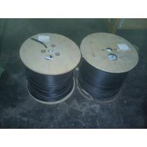 Bobina De Cable Coaxial Rg6 Con Mensajero 305m