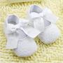 Zapato Mujercita Zapatito Bebé Blanco Importado
