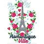 Vectores Estilo Floral Paris Teen Sublimacion Envio Gratis!