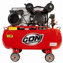 Compresor Goni 3hp. Tanque 60 Lt Herramienta Goni