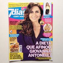 Revista 7 Dias Com Você Giovanna Antonelli Justin Bieber