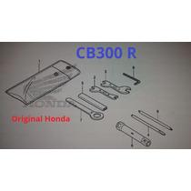 Jogo De Ferramentas Cb300 - Original Honda