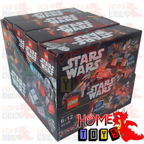 Blocos - Box Com 4 Caixas Stars Wars - Compativel Lego