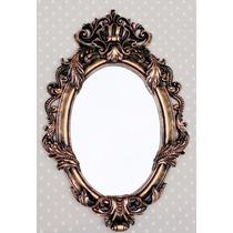 Espelho De Resina + Coroa De Brinde