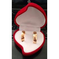 Par Argollas Matrimonio Acero Quirurgico Cód. 624 Oferta