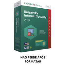 2017 1 Dispositivo Pc - Kaspersky Internet Security 1 Ano¹