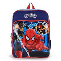 Mochila Escolar Infantil Homem-aranha - Marinho U