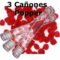 Cañon Popper Petalos Rojos,boda,amor,fiesta,sombrero,confeti