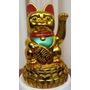 El Gato De La Suerte Japonés Maneki Neko (original)