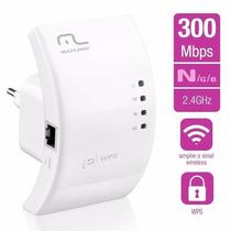Repetidor De Sinal Wi-fi Wps 300 Mbps - Re051 - Multilaser